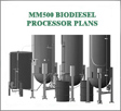 500 Gallons BioDiesel Processor Plans