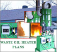 Waste Oil Heater Plans